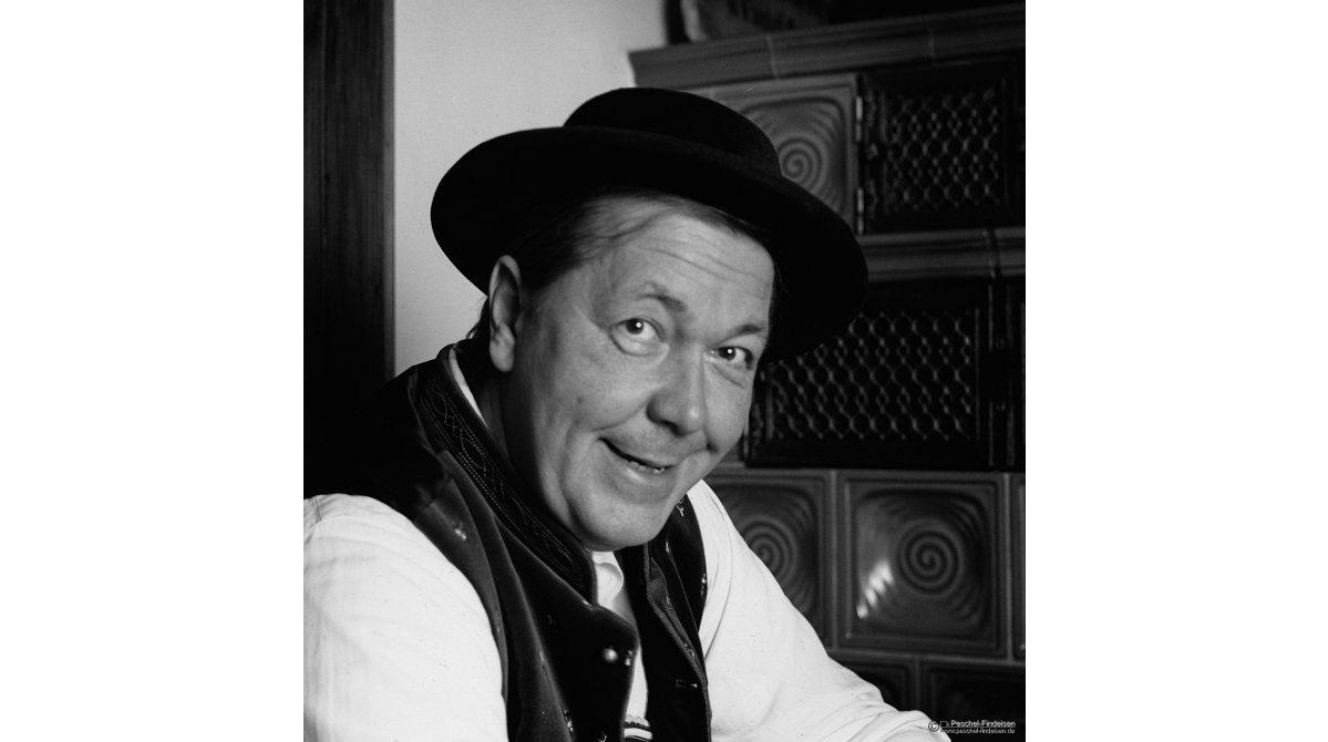 Im Gasthof am Schloss in Windach: Schauspieler Manfred Abholzer