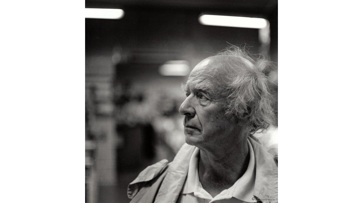 In der Pinakothek: Pantomime Wolfgang Fendt (www.il-mimo.de)