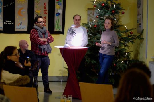 """Finissage """"Die Würde des Menschen ist unantastbar"""" in Magdeburg"""
