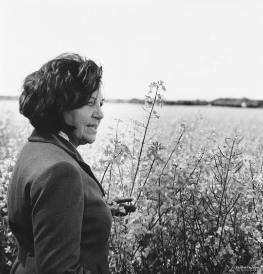 Xenia Marz auf dem Zacherlhof