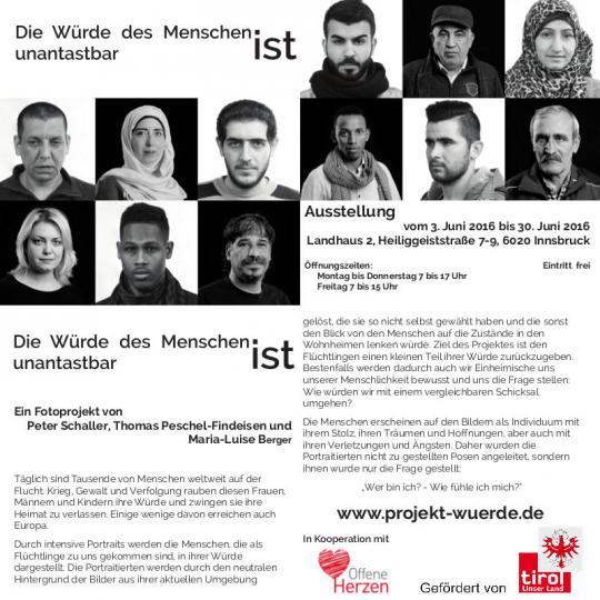 Ausstellung im Landhaus Innsbruck