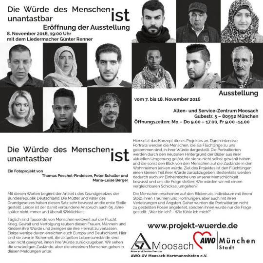 Ausstellung im ASZ-Mossach