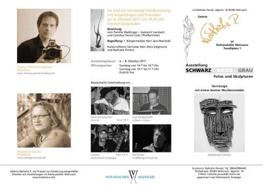 Ausstellung: Schwarz - Weiss - Grau