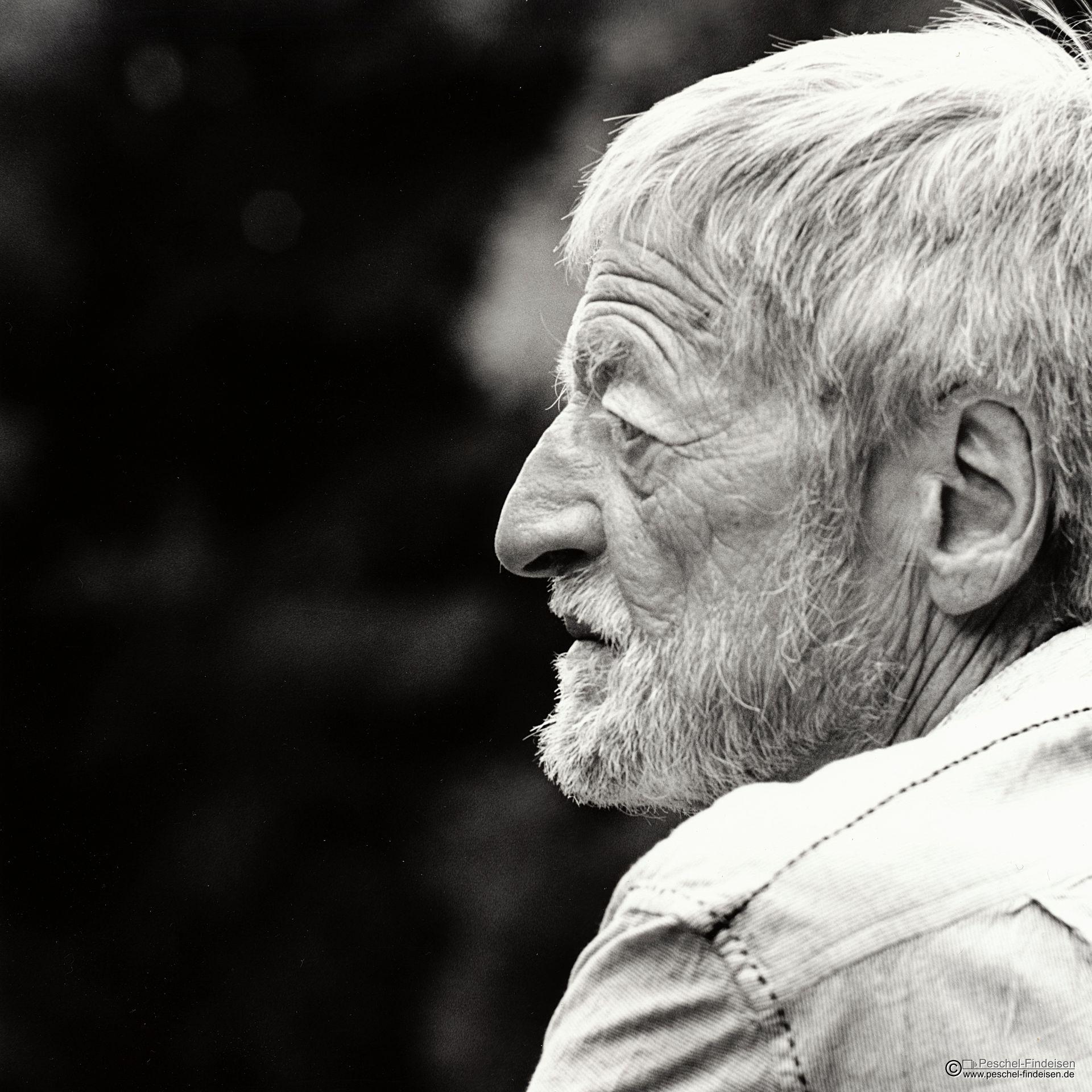 Bernhard Ganter in den Isarauen